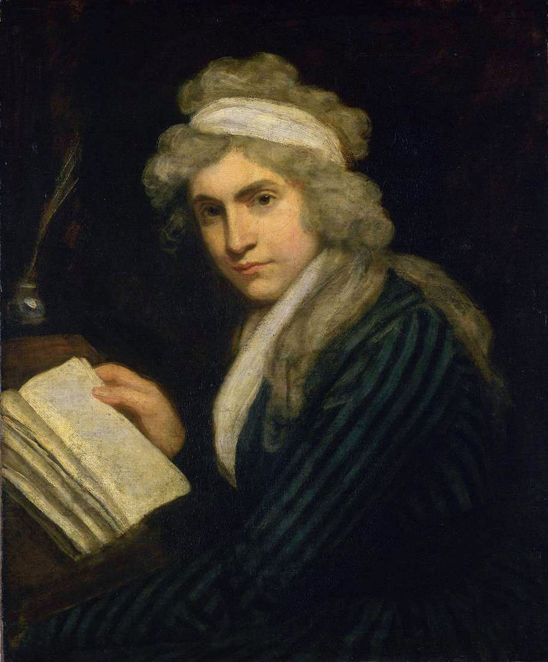 My Hero – Mary Wollstonecraft (no but seriously you guys she's amazing)